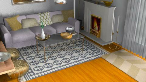 Our Family Room - Eclectic - Living room  - by blake1234