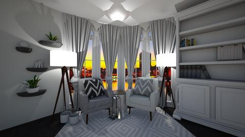 Cosy Comfort Corner - Classic - Living room  - by MackenziePaige