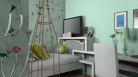 soft greens - Minimal - Kids room  - by Kimberleyx