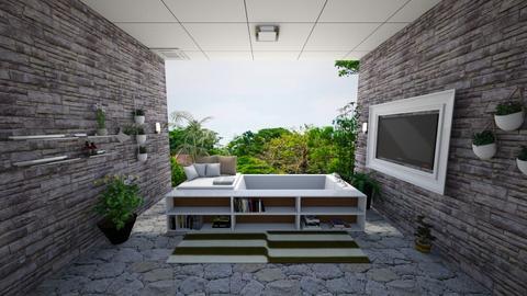 Nature Bathroom - Bathroom - by Yuki Cu