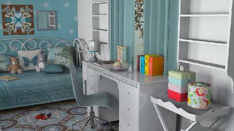 For Maistrenko 3 - Kids room - by Theadora