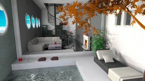 patio - Modern - Living room - by Piechowiak Monika