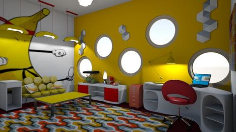 Modern Playful office - Office - by McKenna Mitchell