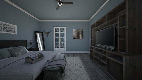 bedroom - Rustic - Bedroom  - by Malwalker02