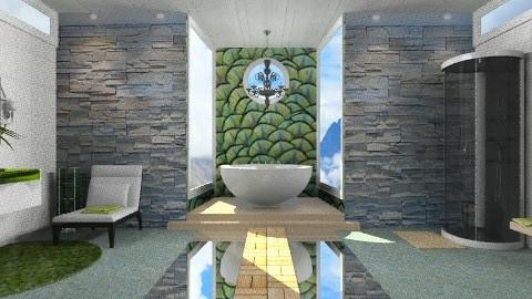 Bath time bliss - Modern - Bathroom  - by Nicky West
