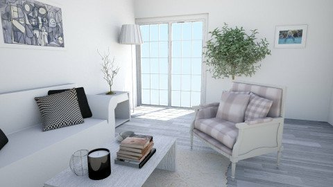 living room  - Minimal - Living room  - by ch_pattie