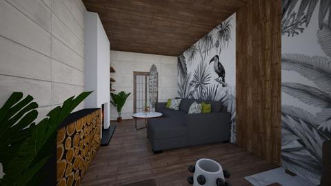 flat2 - Bedroom  - by yulamalina