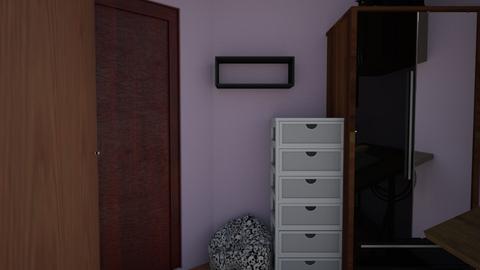 ennis_space_design_2 - Bedroom  - by paperlightboy