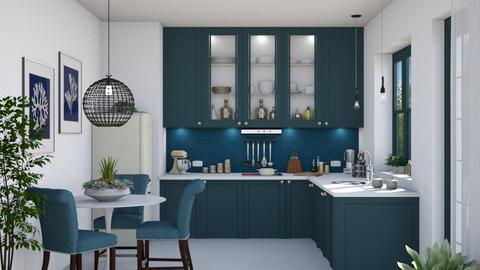 Petrol - Modern - Kitchen  - by Claudia Correia