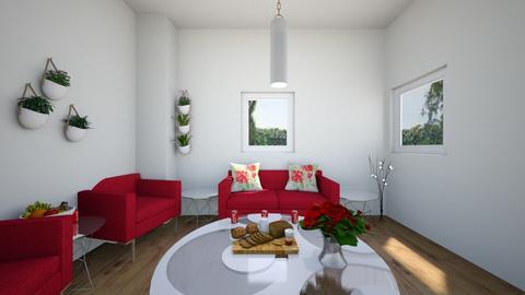 Scarlet Living Room - Living room  - by xxxItsDesignerGirl