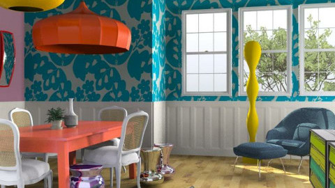 Retro Carnival - Retro - Dining room  - by 3rdfloor
