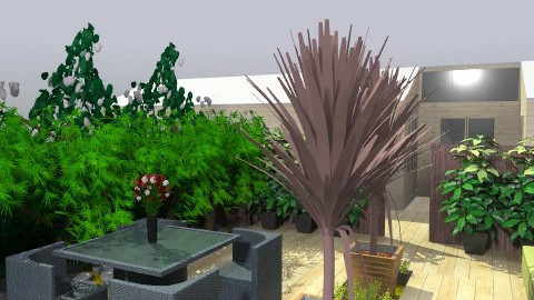 outdoors - Modern - Garden  - by awiley