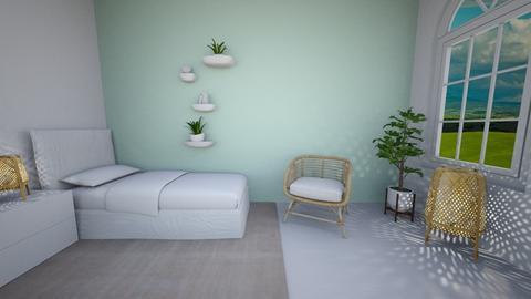 E - Modern - Bedroom  - by Twerka