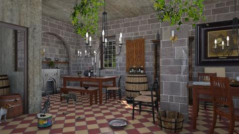 jan steen pub - by Lo89