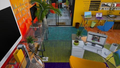 Home Office for Kelly - Retro - Office  - by Tiany Gullatt