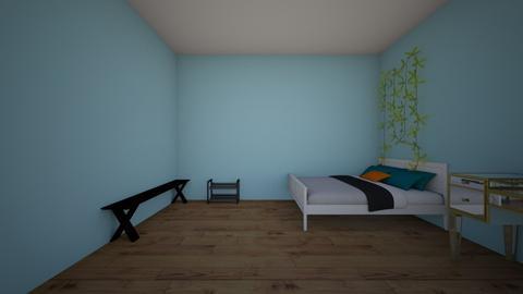 halles room - Bedroom  - by hallebrown23