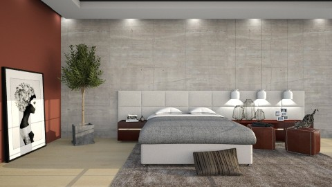 Basic - Modern - Bedroom  - by DeborahArmelin