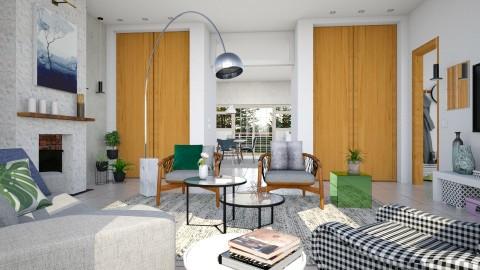 Scandinavian Dutch - Eclectic - Living room  - by evahassing