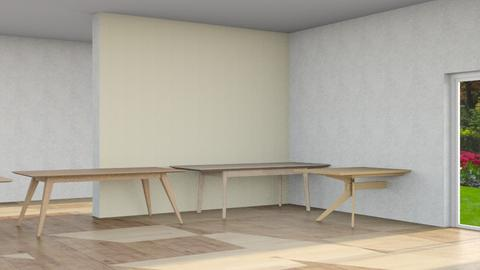 scandivanian dining room - Bathroom  - by Moonpearl