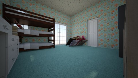 Harriets Dream Room - Feminine - Bedroom - by annabee51