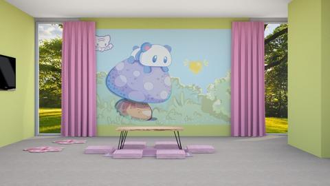 Kawaii Living - Living room  - by Feeny