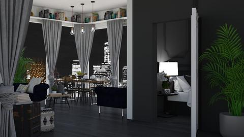 Darker Tones Apartment - by KittyKat28