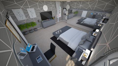 family home 201 - Modern - Bedroom  - by Stavroula Chatzina