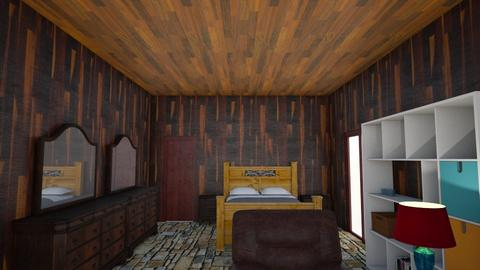 mybedroom 6 - Rustic - Bedroom - by wattenbach
