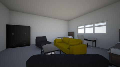 Redizajn sobe 3D - Minimal - Bedroom  - by mbn