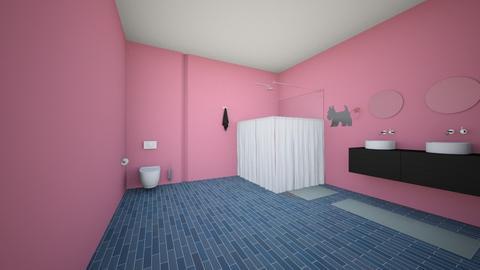 Upstairs Bathroom - Bathroom - by KmasteR