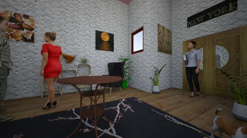 Get together  - Minimal - Living room - by Mayaaaaa