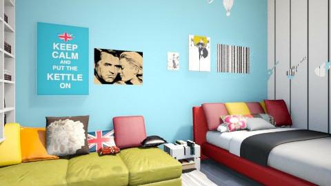 Little Future - Bedroom - by MadmoiselleStrange