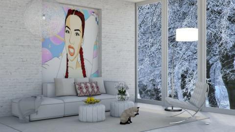Winter with Salice - Modern - Living room  - by bgref