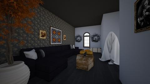 A Spooky Living Room - Living room  - by Karen Sheets
