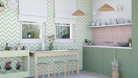 Noa kitchen - Kitchen  - by Charipis home
