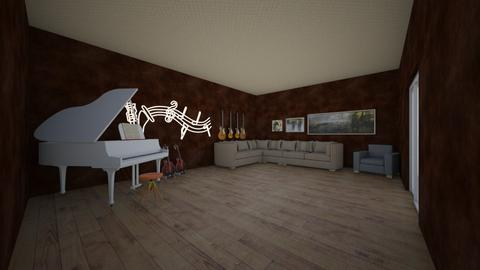 music and chill out room - by dabber
