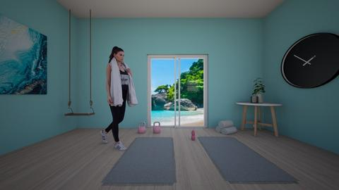 chill out yoga - Modern - by  blossom tree