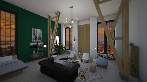 New York apartment 4 - Living room  - by RoomstylerNona