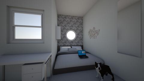My room - Modern - Bedroom  - by mcnicklef333