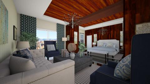 cp room suite - Eclectic - Bedroom  - by peterlo