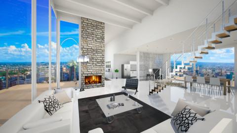 modern comfort - Modern - Living room  - by Senia N