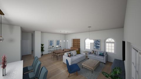 Kibb 4 - Living room  - by Niva T