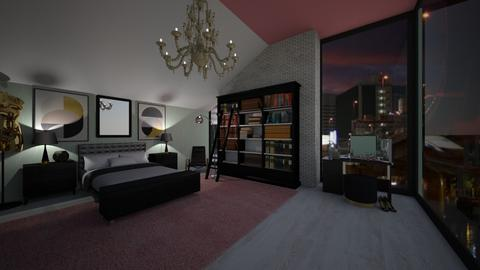 Lauren Bedroom  - Modern - Bedroom - by Kit Bramble