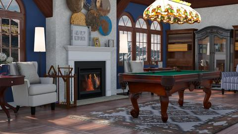 Traditional Game Room - by millerfam