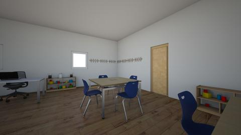 MI AULA 1 - Kids room  - by korice