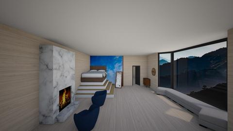 Mountain Bedroom          - Modern - Bedroom - by designcat31