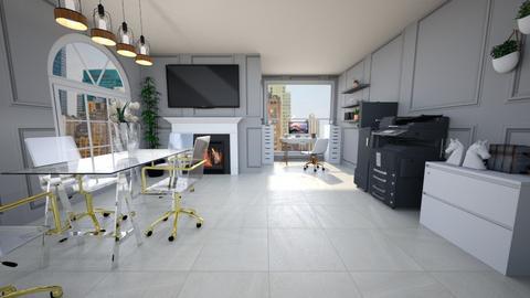arh studio rend 9 - Modern - Office  - by Ana Malajmare