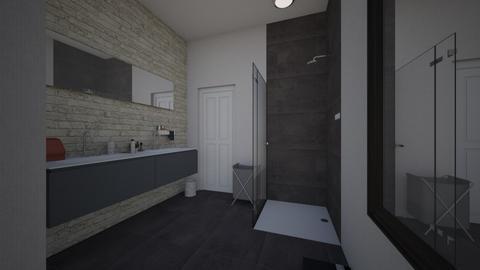 Final Bathroom - Bathroom  - by hannah71122