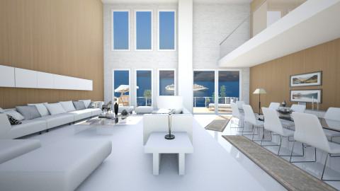 santorini - Modern - Living room  - by Senia N