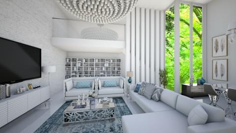 Sala lena1 - Living room  - by camivieira94